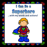 ADHD & Autism social situation task cards: I Can Be a Superhero!