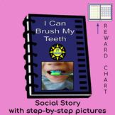 I Can Brush My Teeth - Social Story for brushing teeth
