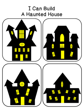 I Can Build A .... Haunted House ( Block Center)