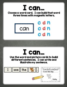 I Can Build It! Building Words and Sentences in the Magnetic Center