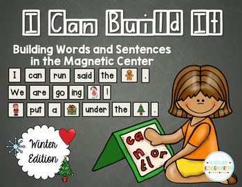 I Can Build It! Magnetic Center - WINTER EDITION