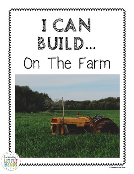 I Can Build...On The  Farm (Block Center Real Images)