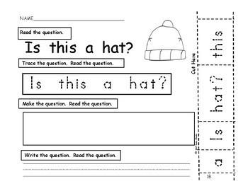 I Can Build Sentences! Bk.3-NEW PRODUCT DEBUT- PreK., Kindergarten, First, SPED