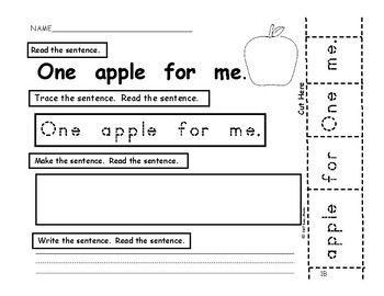 I Can Build Sentences! Bk.4 - PreK., Kindergarten, First, SPED