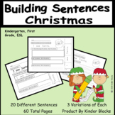 I Can Build Sentences!  - Christmas Edition