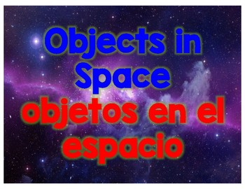 I Can Build Space Theme for the Blocks Center, Dual Language