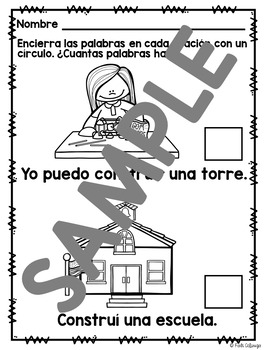 I Can Build Spanish Interactive Reading Books Can Be Used With Frog Street