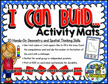 I Can Build a… Activity Cards (Geometry & Spatial Skills)