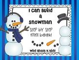 I Can Build a Snowman Mini Book