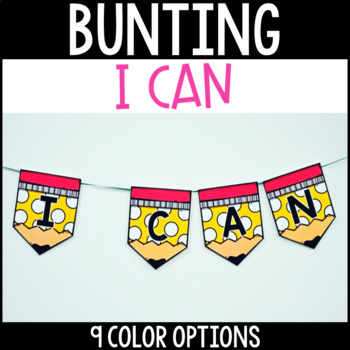 I Can Bunting