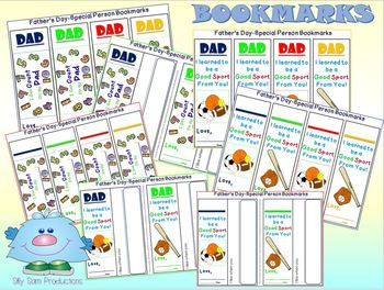 Father's Day GIFT I Can COUNT on my DAD! Card and Book Activity