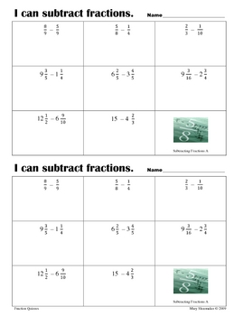 I Can Calculate with Fractions
