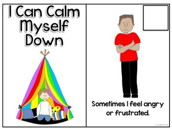 I Can Calm Myself Down: Adapted Social Story and Interactive Boards