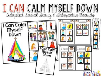 I Can Calm Myself Down: Adapted Social Story and Interacti