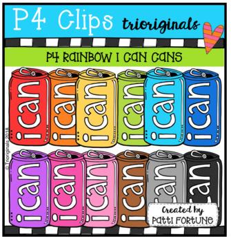 I Can Cans {P4 Clips Trioriginals Digital Clip Art}