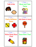 """""""I Can"""" Cards for Conflict & Behavior Management {Free}"""