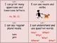 """I Can""  Cards - Common Core Standards Kindergarten  ELA"