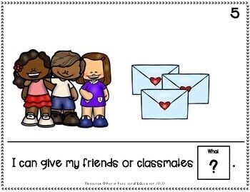 I Can Celebrate Series: Valentines Day! Adapted Book- Special Education/Autism