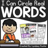 I Can Circle Real Words