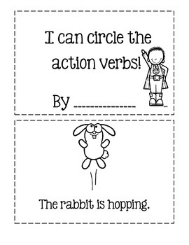 I Can Circle The Action Verbs!