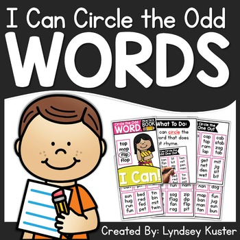 I Can Circle the Odd Word