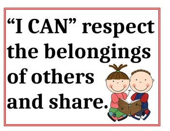 """I Can"" Classroom Rules"