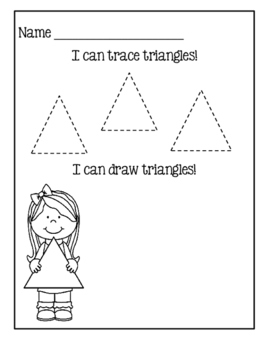 I Can Identify Shapes - Kindergarten Common Core Series