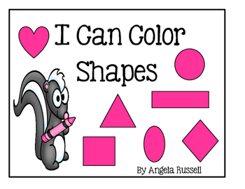 I Can Color Shapes
