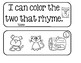I Can Color The Two That Rhyme!