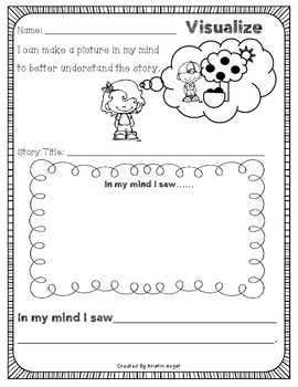 """""""I Can"""" Comprehension Strategies Pack"""