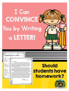 Opinion Letter Writing: Should students have homework?