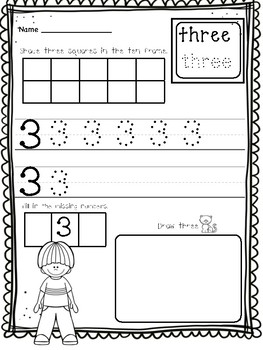 I Can Count! Counting & Cardinality Practice