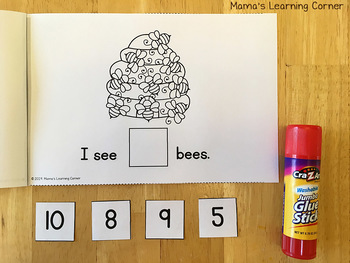 I Can Count Bees Interactive Booklet