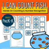 I Can Count Fish: Hands On Count to 10 Activity