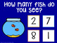 I Can Count Fish Interactive PDF Counting Activity for Special Education