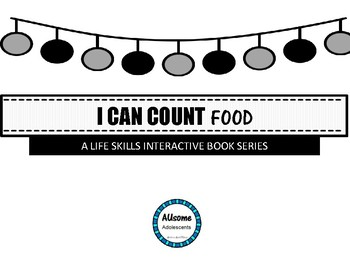 I Can Count Interactive Books- SWEETS