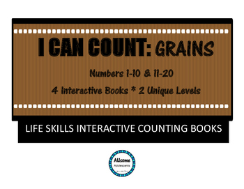I Can Count Interactive Books- GRAINS