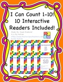 I Can Count! Interactive Reader Bundle (10 Counting Readers!)