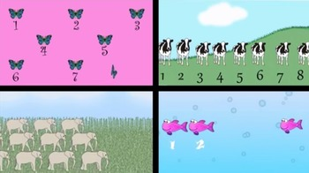 I Can Count! Kindergarten Counting Videos