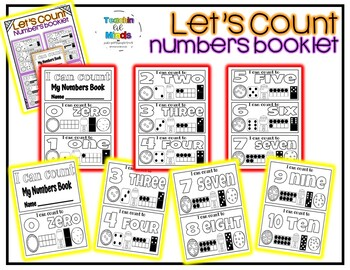 I Can Count - Numbers Booklet