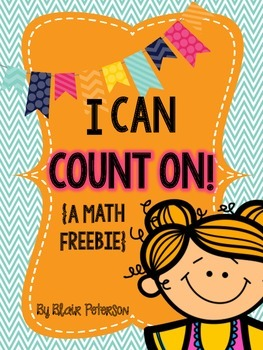 I Can Count On! {A Math Freebie}