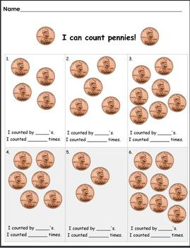 I Can Count Pennies!