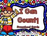 I Can Count! Preschool Counting Strips