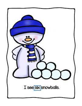 I Can Count Snowballs, Ten Frames, and More