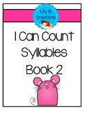 I Can Count Syllables - Book 2