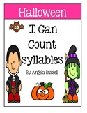I Can Count Syllables - Halloween Book