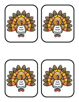 I Can Count Ten Turkeys