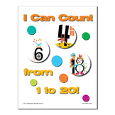 I Can Count from 1 - 20