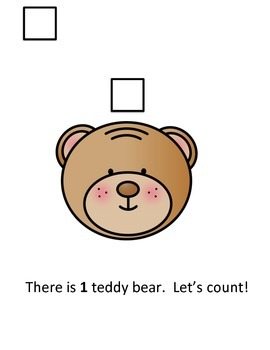 I Can Count to 1! Interactive Reader