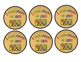 I Can Count to 100 Medals - 100th Day of School!